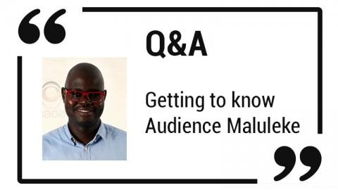 Q & A- Audience Maluleke