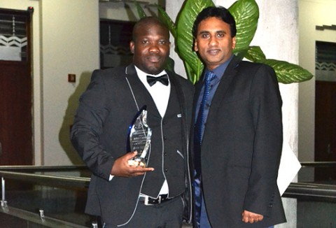 South African Optometrist received an award at the world council of optometry