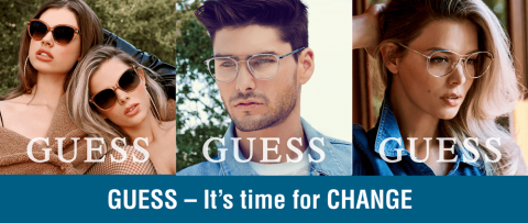 GUESS – It's time for CHANGE