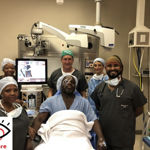 OSSA's Right to Sight Trust ups restorative sight operations to cataract patients this World Sight Day