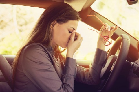 Bad vision contributes to bad driving and accidents